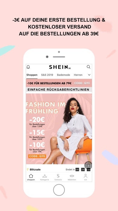 Screenshot for SHEIN-Shopping und Fashion in Austria App Store