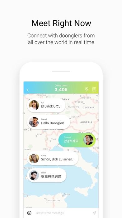 Doongle - 1Mil Global Penpal App Report on Mobile Action