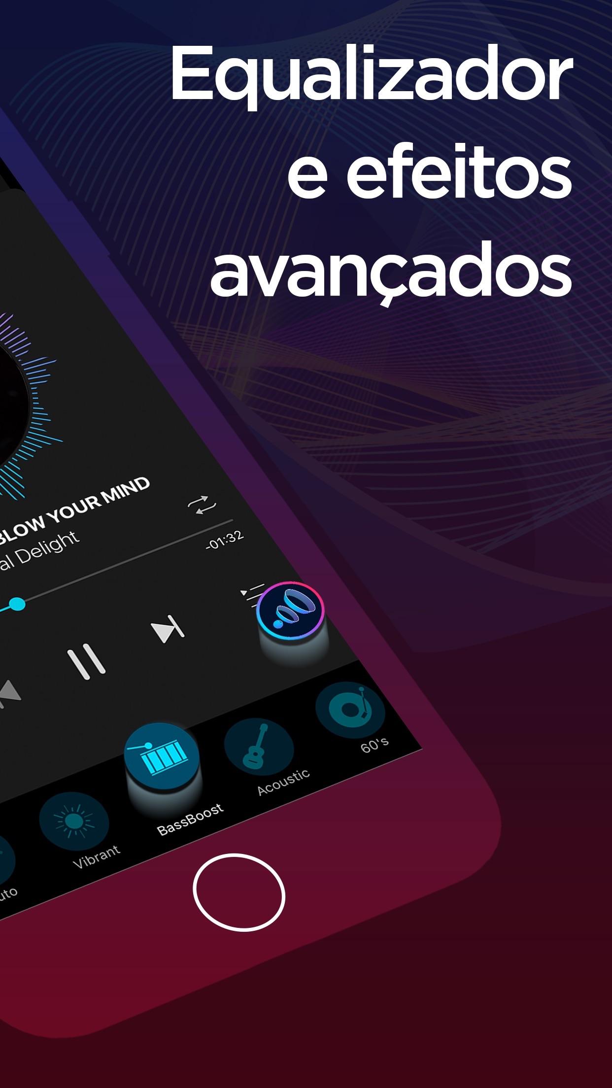 Screenshot do app Boom: Bass Booster & Equalizer