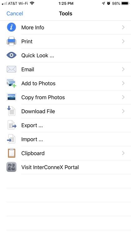 InterConneX for iPhone screenshot-4
