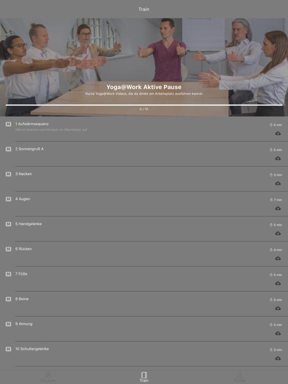 Yoga@Work screenshot 4