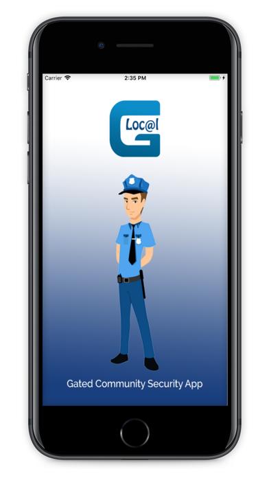 LocalG-Community Security App screenshot 1