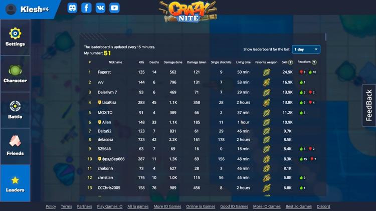 Crazynite.io screenshot-6