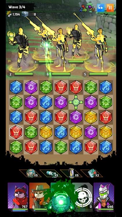 Puzzle Force: Match 3 RPG screenshot-5