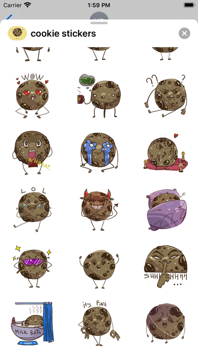Cookie - Emoji and Stickers screenshot 2
