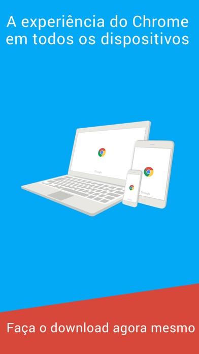 Screenshot for Chrome – navegador da Google in Portugal App Store