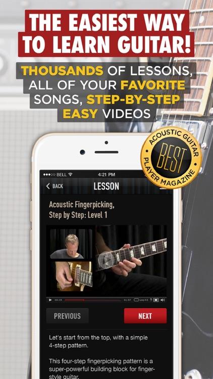 Guitar Lessons - Guitar Tricks screenshot-0
