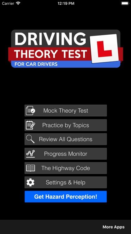 Driving Theory Test UK Car Pro