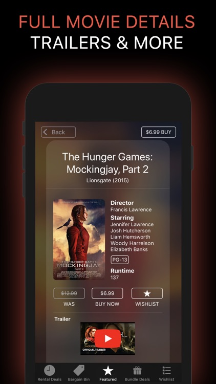 Movie Deals: Cheap Movies App screenshot-4