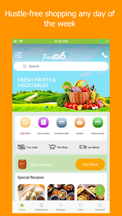 FreshGo screenshot two