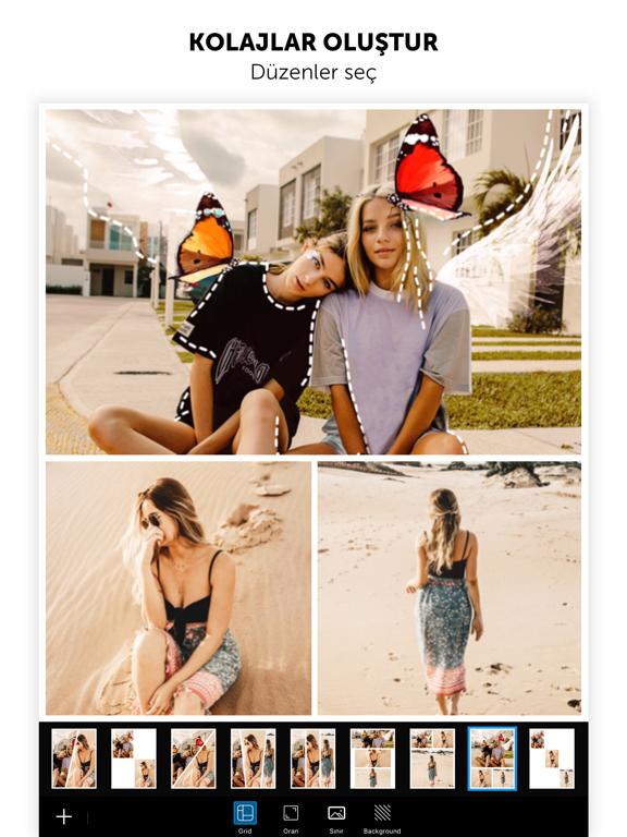 PicsArt Foto ve Video Editörü ipad ekran görüntüleri