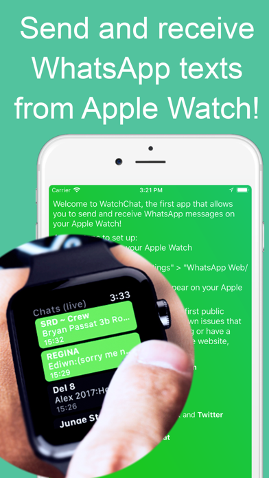 Screenshot for WatchChat 2: for WhatsApp in Germany App Store