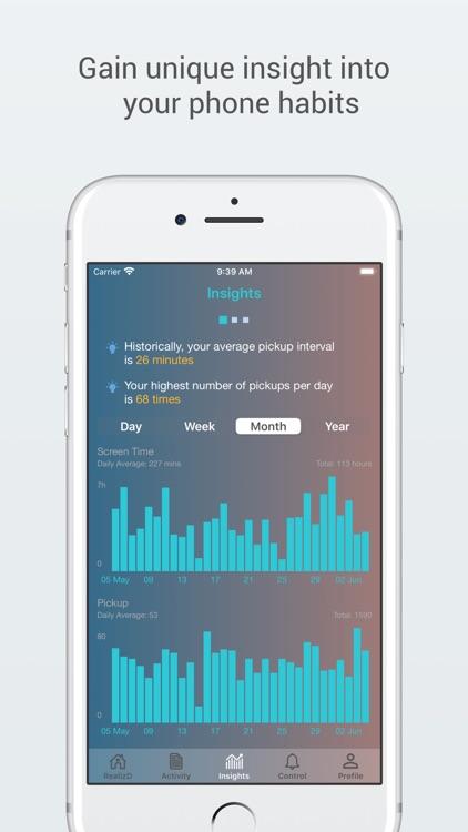 RealizD - Screen Time Tracker screenshot-3