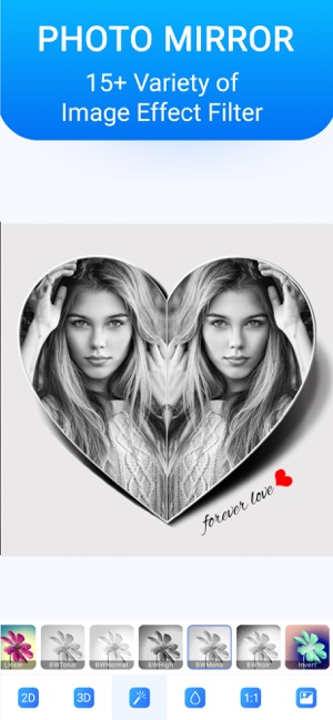Mirror Photo Collage Editor on the App Store