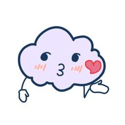 铋崴手机客户端-云朵贴图