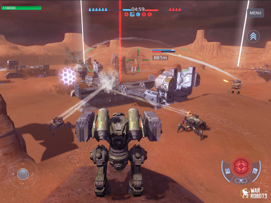War Robots Multiplayer Battles