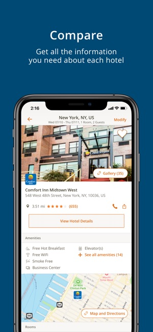 Choice Hotels on the App Store on