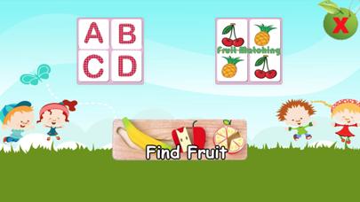 Kids Learn Veggies and Fruits screenshot one