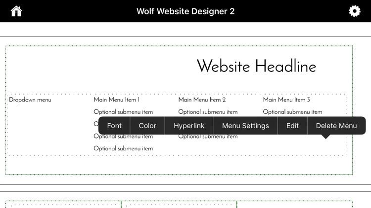 Wolf 2 - Responsive Designer screenshot-7
