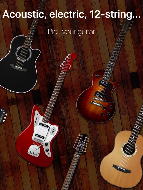 Guitar - real games & lessons screenshot 9