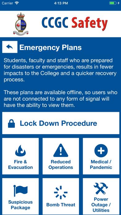 CCGC Safety screenshot 4