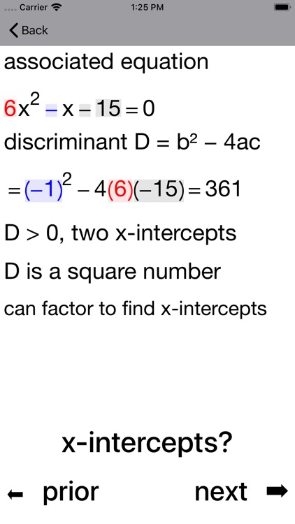 Quadratic Inequalities screenshot-3