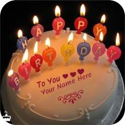 Write Name On Birthday Cake 4
