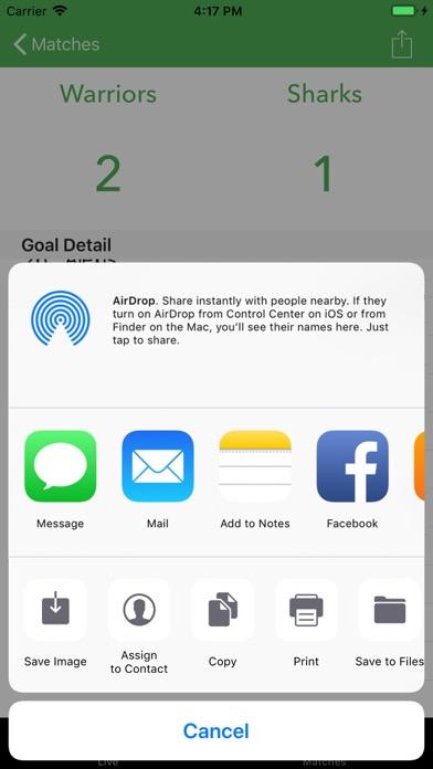 Soccer Scoreboard Track/Share screenshot 4