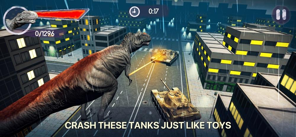 Dino Crash 3D - Raptor hack tool
