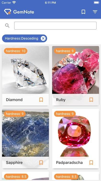 GemNote - Gemstone Guide screenshot-5