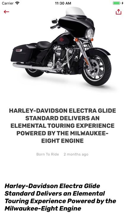 Born To Ride Motorcycle Media screenshot-5