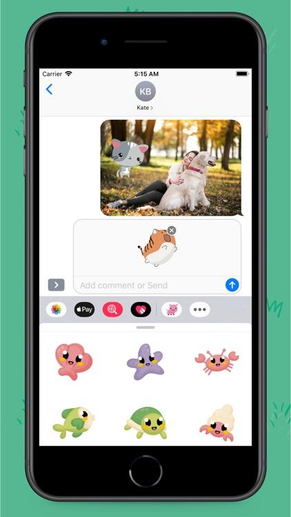 Tiny Animals Stickers screenshot-6
