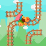 Railway worker - puzzle game