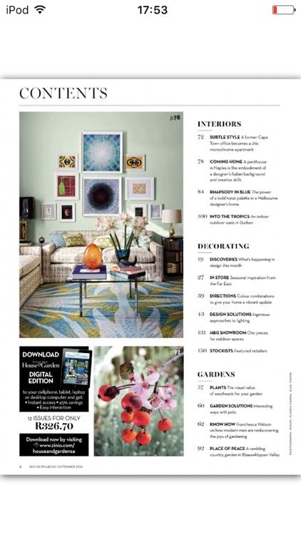 Condé Nast House & Garden screenshot-4