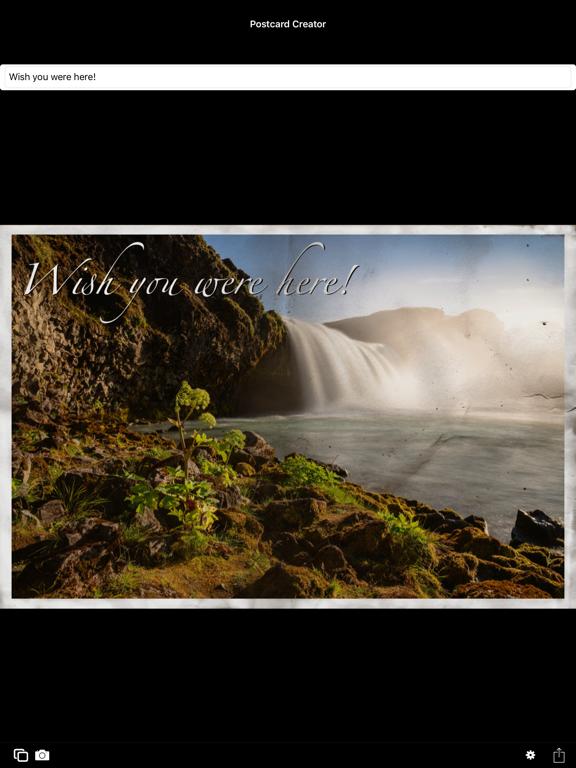 Postcard Creator screenshot