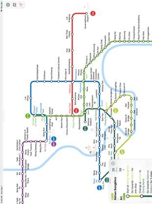Screenshot #6 pour Bangkok Metro Transit Map