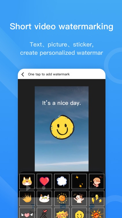 Video watermark Pro lite