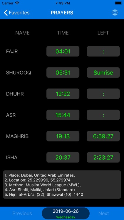 Qibla Finder & Prayer Timings