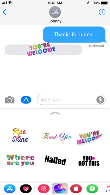 6 Animated Daily Stickers