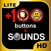 +100 Buttons and Sounds Ultimate HD Lite icon