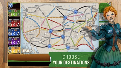Screenshot for Ticket to Ride in United States App Store