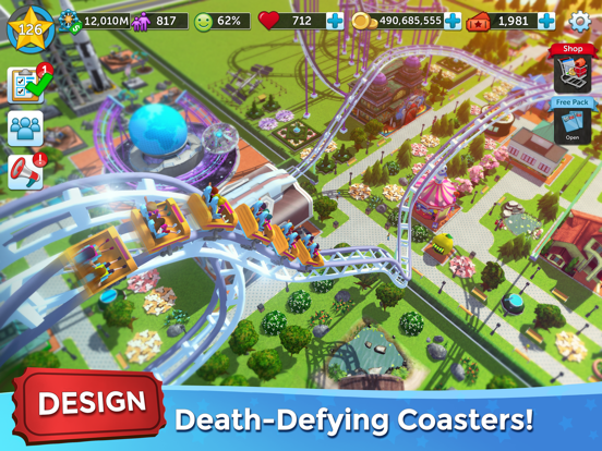 RollerCoaster Tycoon® Touch™ by Atari (iOS, アメリカ合衆国