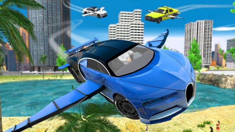Flying Car Transport Simulator screenshot-7