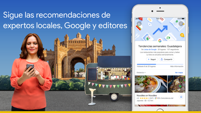 Descargar Google Maps - trafico y comida para Android