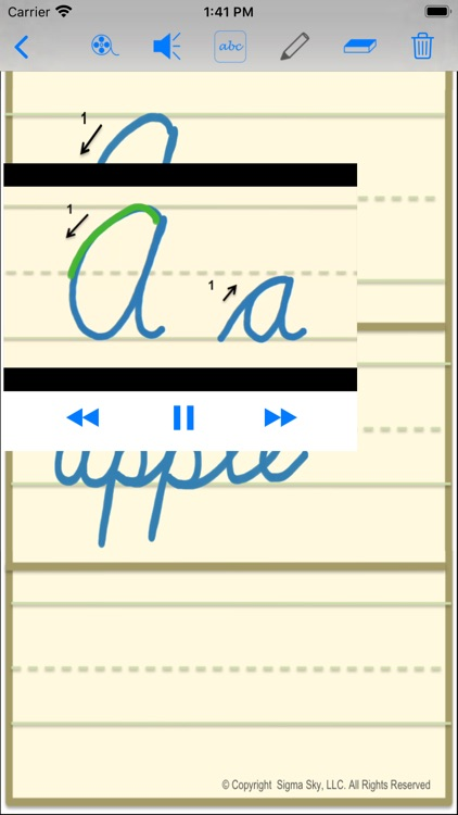 cursive screenshot-3