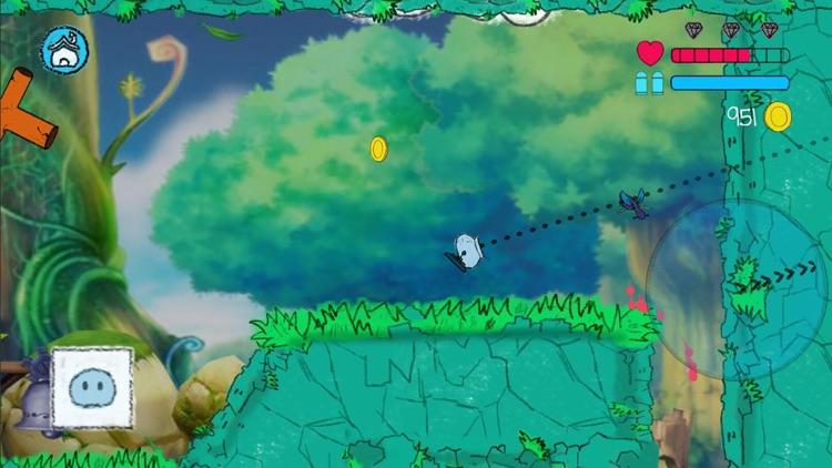 Jumping Slime 2D Platform Game