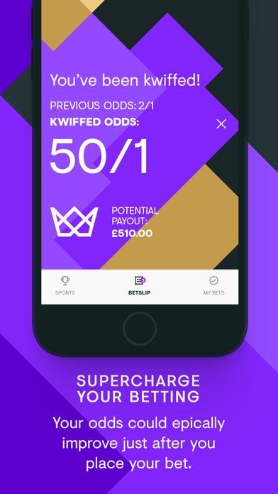 kwiff - Sports Betting screenshot one