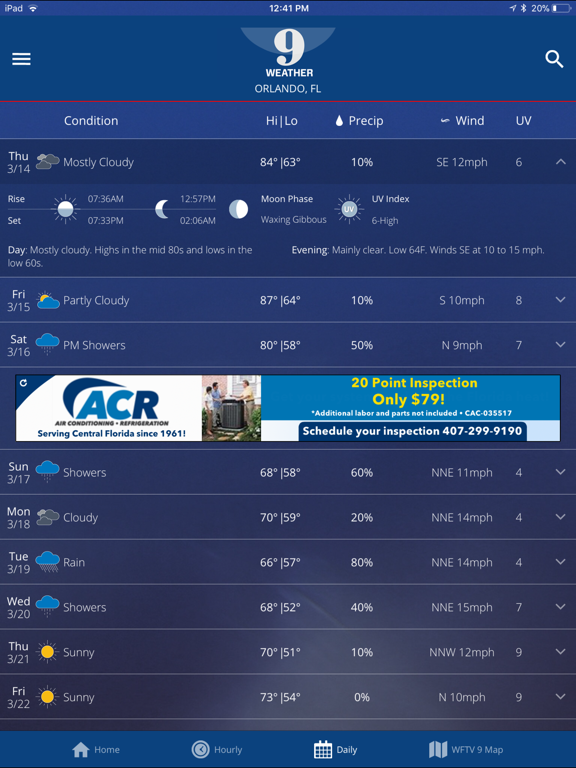 WFTV Channel 9 Weather | App Price Drops