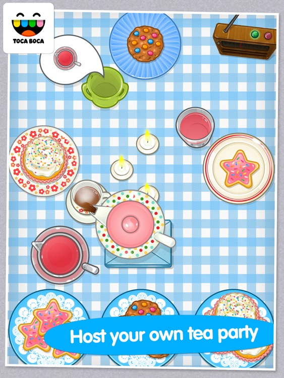 Toca Tea Party screenshot-0