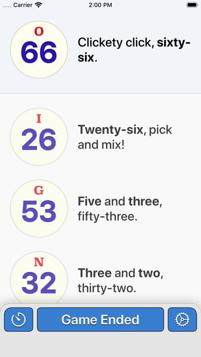 Bingo Machine - Number Callerのおすすめ画像3